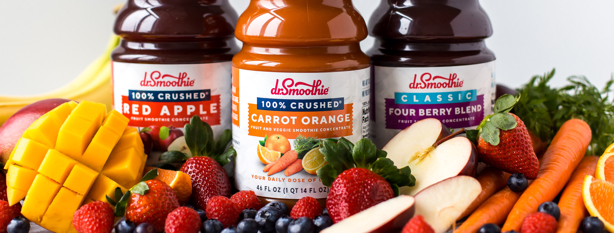smoothie branding and label design