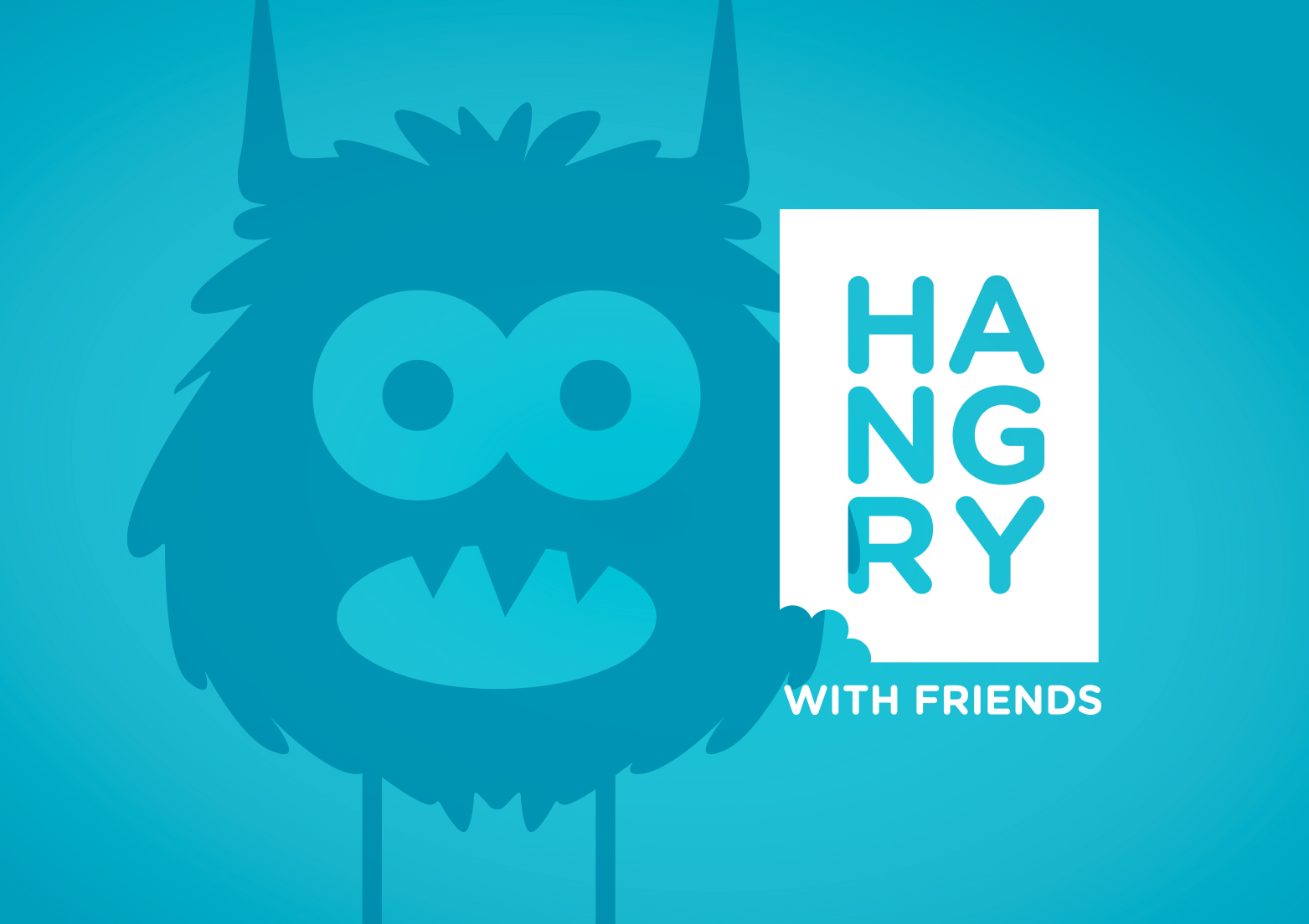 hangry app branding and ui design